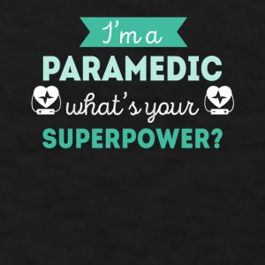 Paramedic Superpower Profession Healthcare T-shirt Mugs & Drinkware - Men's T-Shirt