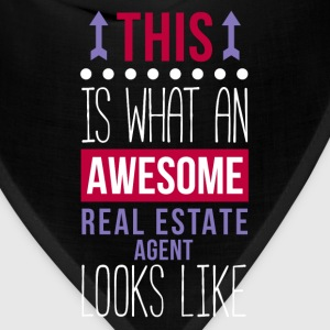 Awesome Real Estate Agent Professions T-shirt Women's T-Shirts - Bandana