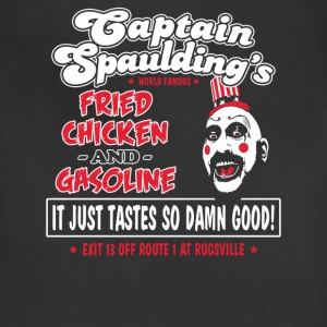Funny captain spaulding for president - Adjustable Apron