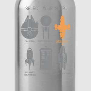 fandom doctor who sherlock - Water Bottle