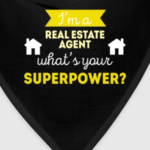 Real Estate Agent Superpower Professions T-shirt Women's T-Shirts - Bandana