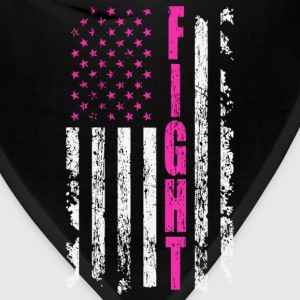 FIGHT FLAG CANCER - Bandana