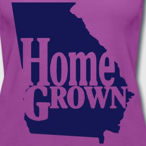 Home Grown Georgia - Women's Premium Tank Top