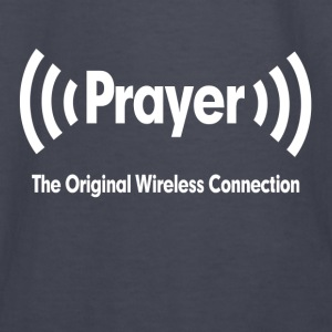 Prayer The Original Wireless Connection Religious Hoodies - Kids' Long Sleeve T-Shirt
