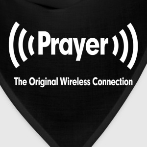 Prayer The Original Wireless Connection Religious Hoodies - Bandana