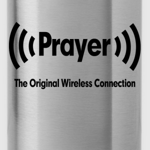Prayer The Original Wireless Connection Religious Hoodies - Water Bottle