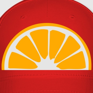 orange lemon half cut eating sour sweet tasty patt T-Shirts - Baseball Cap