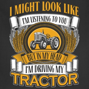 DRIVING MY TRACTOR - Adjustable Apron
