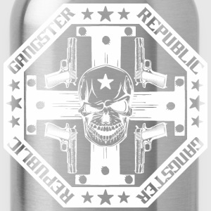 O14R Gangster white - Water Bottle
