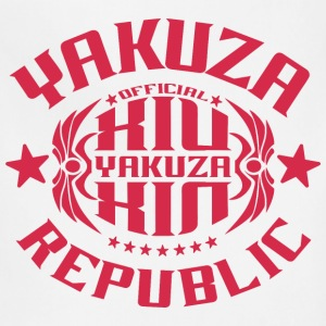 Yakuza O14R T-shirt red - Adjustable Apron