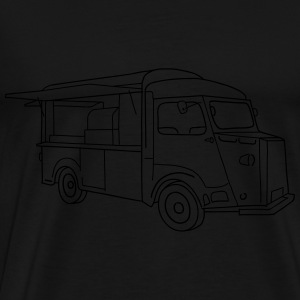 Food truck Long Sleeve Shirts - Men's Premium T-Shirt