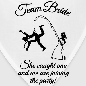 Team Bride Husband Fishing + Saying (Hen Party 1C) - Bandana