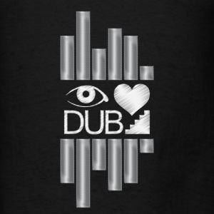 I Heart Dubstep Hoodies - Men's T-Shirt