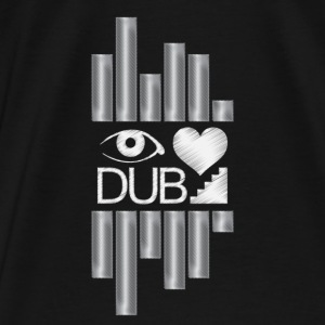 I Heart Dubstep Hoodies - Men's Premium T-Shirt