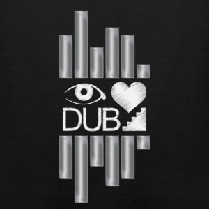I Heart Dubstep Hoodies - Men's Premium Tank