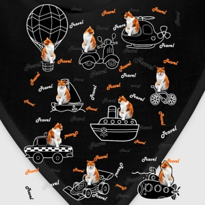 Travel cat Kids' Premium T-Shirt. - Bandana