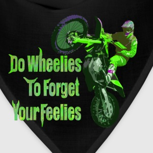 do wheelies Hoodies - Bandana