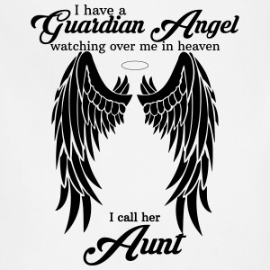 My Aunt Is My Guardian Angel Women's T-Shirts - Adjustable Apron