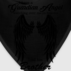 My Brother Is My Guardian Angel he Watches Over M T-Shirts - Bandana