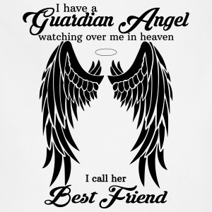 My Best Friend Is My Guardian Angel Women's T-Shirts - Adjustable Apron