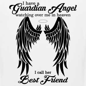 My Best Friend Is My Guardian Angel Women's T-Shirts - Men's Premium Tank