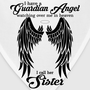 My Daughter Is My Guardian Angel She Watches Over Women's T-Shirts - Bandana