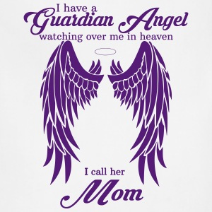 My Mom Is My Guardian Angel she Watches Over My B Women's T-Shirts - Adjustable Apron