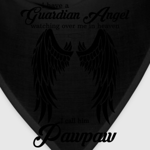 My Pawpaw Is My Guardian Angel she Watches Over My T-Shirts - Bandana