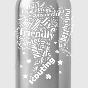 SCOUTING GIRL - girl scout leaders - Water Bottle