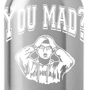 you mad bro - Water Bottle