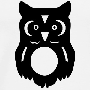 owl Buttons - Men's Premium T-Shirt