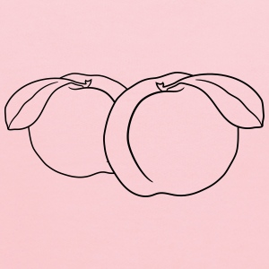 2 peaches delicious fruit fruits T-Shirts - Kids' Hoodie