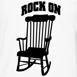 rock on T-Shirts - Men's Premium Long Sleeve T-Shirt