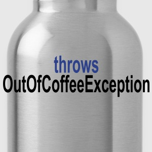 Coffee Exception T-Shirts - Water Bottle