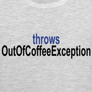 Coffee Exception T-Shirts - Men's Premium Tank