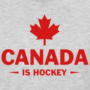 CANADA IS HOCKEY Sportswear - Men's Premium Long Sleeve T-Shirt
