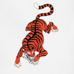 Chinese Tiger T-Shirts - Adjustable Apron