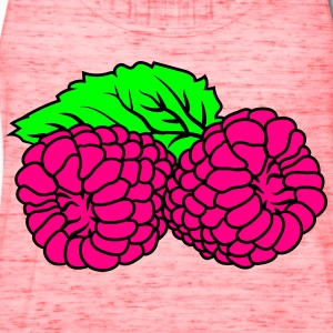 2 raspberries tasty T-Shirts - Women's Flowy Tank Top by Bella