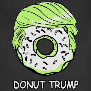 Donut Trump T-Shirts - Adjustable Apron