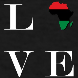 LocStar Revolution Love Africa! - Men's T-Shirt