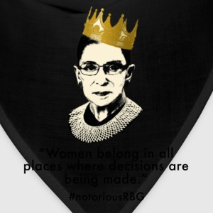 Notorious RBG Women's T-Shirts - Bandana