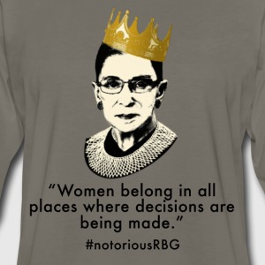 Notorious RBG Women's T-Shirts - Men's Premium Long Sleeve T-Shirt