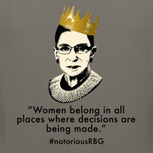 Notorious RBG Women's T-Shirts - Men's Premium Tank
