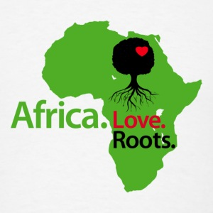 LocStar Revolution Love My African Roots! - Men's T-Shirt