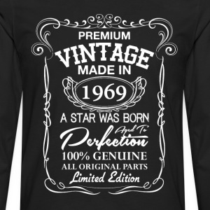 Premium Vintage 1969 T-Shirts - Men's Premium Long Sleeve T-Shirt