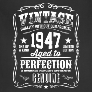 Vintage 1947 Aged to Perfection - Adjustable Apron
