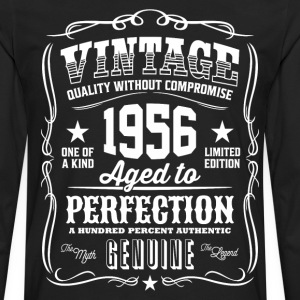 Vintage 1956 Aged to Perfection - Men's Premium Long Sleeve T-Shirt