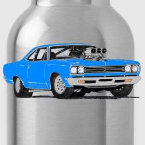1969 Plymouth Roadrunner (Blue) - Water Bottle