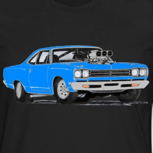 1969 Plymouth Roadrunner (Blue) - Men's Premium Long Sleeve T-Shirt