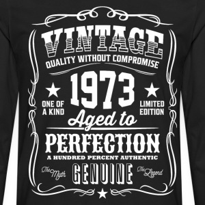 Vintage 1973 Aged to Perfection - Men's Premium Long Sleeve T-Shirt